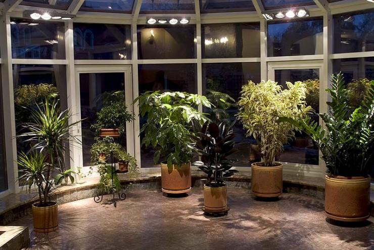 светильники для зимнего сада