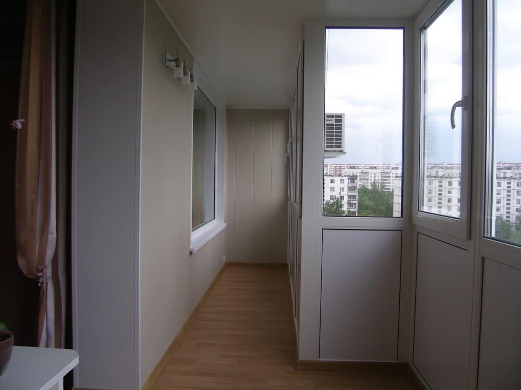 Технология соединения балкона с комнатой..